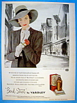 Vintage Ad: 1947 Bond Street By Yardley