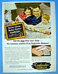 Vintage Ad: 1947 Englander Mattress
