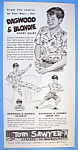 Click here to enlarge image and see more about item 14223: Vintage Ad: 1949 Dagwood & Blondie Sport Shirt