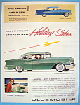 Vintage Ad: 1955 Oldsmobile Holiday Sedan