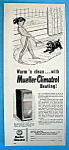 Click to view larger image of Vintage Ad: 1955 Mueller Climatrol Heating (Image1)