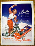 1940 Chesterfield Cigarettes w/ Smart Girls