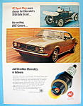 Click to view larger image of Vintage Ad: 1966 AC Spark Plugs (Image1)
