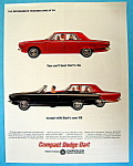 Vintage Ad: 1964 Compact Dodge Dart