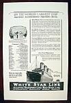 Vintage Ad: 1926 White Star Line