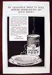 Vintage Ad: 1926 Campbell's Vegetable Soup