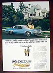Click to view larger image of Vintage Ad: 1976 Delta 88 Oldsmobile (Image1)