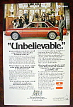 Click to view larger image of Vintage Ad: 1976 Dodge Aspen w/ Rex Harrison (Image1)