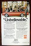 Vintage Ad: 1976 Dodge Aspen w/ Rex Harrison