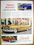 1949 Lincoln with the Lincoln Cosmopolitan