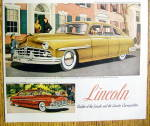Click to view larger image of 1949 Lincoln with the Lincoln Cosmopolitan (Image2)