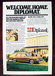 Vintage Ad: 1978 Dodge Diplomat