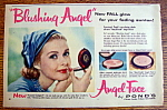 Vintage Ad: 1957 Pond's Angel Face