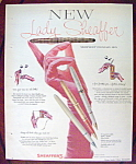 Click here to enlarge image and see more about item 14342: Vintage Ad: 1958 Lady Sheaffer Pens