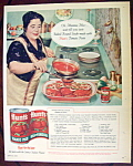 Click to view larger image of Vintage Ad: 1958 Hunt's Tomato Paste (Image1)