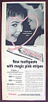 Vintage Ad: 1958 Stripe Tooth Paste