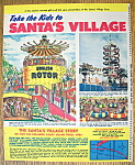 Click here to enlarge image and see more about item 14354: Vintage Ad: 1971 Santa's Village Amusement Park