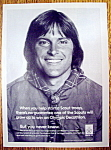 Click here to enlarge image and see more about item 14362: Vintage Ad: 1979 Boy Scouts with Bruce Jenner