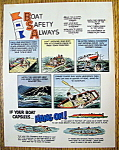 Vintage Ad: 1968 Boat Safety Always