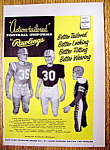 Click here to enlarge image and see more about item 14364: Vintage Ad: 1955 Rawlings Football Uniforms