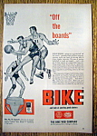 Click here to enlarge image and see more about item 14378: Vintage Ad: 1955 Bike Supporter