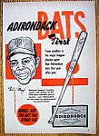 Click to view larger image of Vintage Ad: 1955 Adirondack Baseball Bat w/ Willie Mays (Image1)
