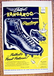 Vintage Ad: 1955 Rawlings Kangaroo Football Shoes