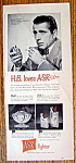 Click to view larger image of Vintage Ad: 1949 ASR Lighter with Humphrey Bogart (Image1)