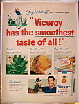 Click to view larger image of Vintage Ad: 1957 Viceroy Cigarette w/ Cary Middlecoff (Image1)