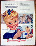 Click to view larger image of Vintage Ad: 1958 Sunbeam Bread (Image1)