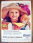 Vintage Ad: 1958 Du Pont Cellophane