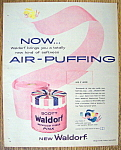 Vintage Ad: 1958 Scott Waldorf Bathroom Tissue