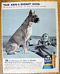 Click here to enlarge image and see more about item 14438: Vintage Ad: 1958 Ken-L Biskit