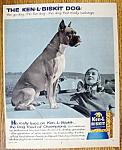 Click to view larger image of Vintage Ad: 1958 Ken-L Biskit (Image1)