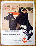 Vintage Ad: 1959 AC Spark Plugs w/ Guy Williams