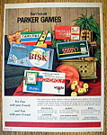 Click to view larger image of Vintage Ad: 1962 Parker Games (Image1)
