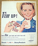 Click here to enlarge image and see more about item 14452: Vintage Ad: 1962 Dean's Vim