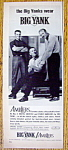 Vintage Ad: 1962 Big Yank/Amblers w/ Mantle & More