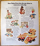 1975 Fisher Price Toys with Trucks, Castle & More