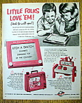 Click to view larger image of Vintage Ad: 1967 Etch A Sketch (Image1)
