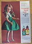 Vintage Ad: 1963 Vermont Maid Doll