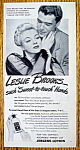 Vintage Ad: 1945 Jergens Lotion with Leslie Brooks