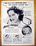 Vintage Ad: 1945 Lux Toilet Soap with Merle Oberon