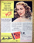 Vintage Ad: 1945 Movie Wave Permanent w/Audrey Long