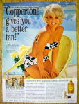 Click to view larger image of 1965 Coppertone Suntan Lotion with Elke Sommer (Image1)