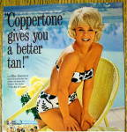 Click to view larger image of 1965 Coppertone Suntan Lotion with Elke Sommer (Image2)
