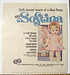Click to view larger image of 1977 Softina with the Doll That's Soft From Head To Toe (Image1)