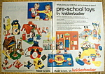 Click to view larger image of Vintage Ad: 1977 Preschool Toys By Knickerbocker (Image1)