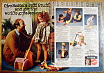 Click to view larger image of Vintage Ad: 1975 Mattel Tuff Stuff Preschool Toys (Image1)
