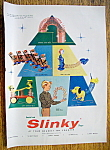 Click to view larger image of Vintage Ad: 1957 Slinky Toys (Image1)